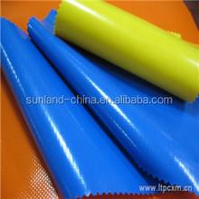 1000D 20*20 pvc coated tarpaulin fabric, eco-friendly pvc laminated tarpaulin