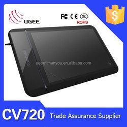 UGEE CV720 High Pressure Sensitive Graphics Tablet with English User Manual
