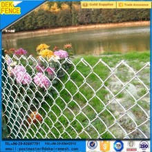 Hot Dipped Galvanized and PVC Coated Garden 5 foot chain link Fence