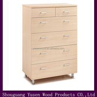 modern bedroom wood chest of drawers design