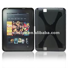 TPU tablet case cover for Kindle Fire HD