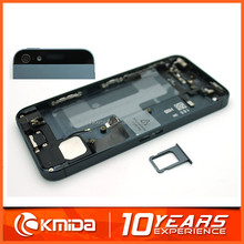 Wholesale color back housing battery door cover case rear housing for iPhone 5