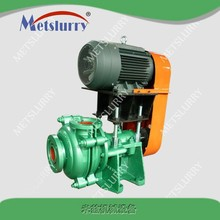 High head corrosion resistant metal liner horizontal slurry pump for mining