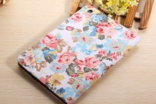 2014 New Photo Frame Case For Apple iPad mini 1 2 3 Vintage Flower Tablet Case with card slot