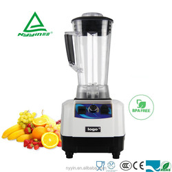ETL/CE/ROHS/LFGB approved kitchen portable electric blender Electric mixer plastic 2 in 1 kitchen salad blender