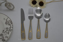 New Beautiful Special design Stainless Steel Tableware 4pcs set Hot sale /Wholesales