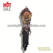 OVERSIZED red led eyes Hanging Ghost