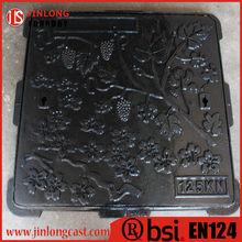 en124 cast iron manhole cover manufacturer direct sale