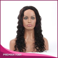 "malaysian virgin hair full lace wig 23"" hot saxy quality deep body wave honey blonde human hair full lace wig"