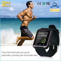 New products bluetooth 3.0 android gps smart watch for smart phone