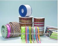 Wholesale 100% polyester packing grosgrain ribbon,printed ribbon,satin ribbon