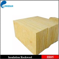 Fireproof thermal insulation rockwool board for roof system