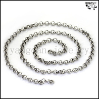 Wholesale 316l stainless steel necklace locket chain