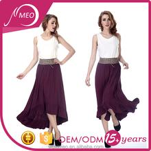 fashionable latest custom middle models girls skirts