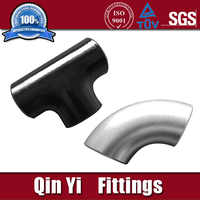 butt welding 16'' sch160 carbon seamless steel pipe fittings