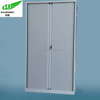 Lockable gray 2 door book cabinet rollers for metal file cabinet