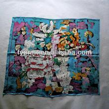 Factory Custom Design Silk Direct Silk Warp and Square Scarves