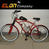 """80cc new 26"""" 2L tank electric motorcycle(E-GS102,red)"""