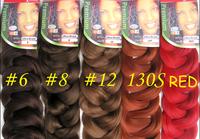 Expression Braiding Hair/Kanekalon Synthetic Hair/Super Jumbo Braid