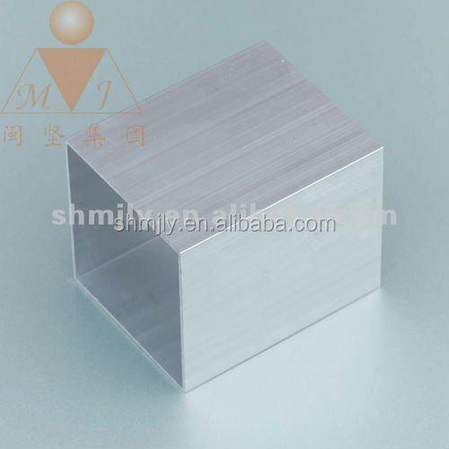 Rectangular tubes hollow section aluminium