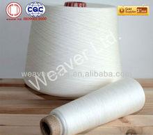 12/1 polyester spun yarn raw white