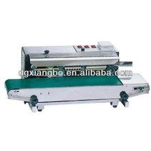 High quanlity FR-900 continuous plastic bag sealing machine,automatic sealer machine steel