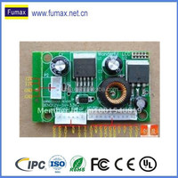 Smart PCBA lcd tv power supply board and control PCB board manufacturing and assembly