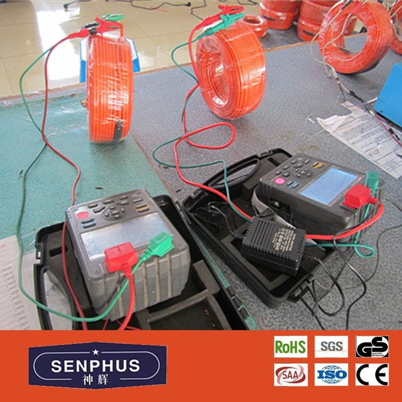 Electric Floor Heating Loose Wire System Undertile Heating