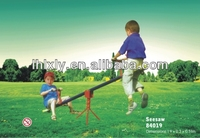 outdoor playground seesaw with two seat