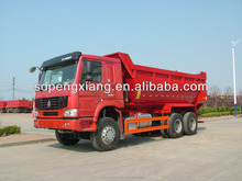 6*4 U style hopper GUM dump truck for sale