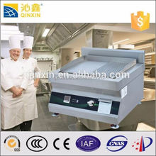 Commercial industrial kitchen electrical equipment stainless steel induction flat cast iron comercial bbq grill