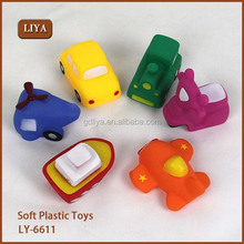 Educational Baby Plastic Toy Car, Bath toy vehicle, Colorful Car toys LY-6611