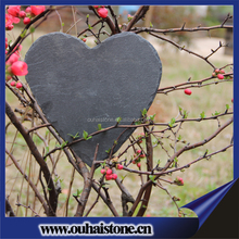New fashional slate heart art craft