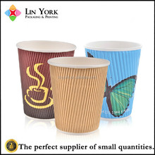 Best quality Custom logo disposable single wall coffee paper cup