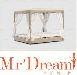 MR DREAM gardern outdoor furniture rattan bed CF26-0361