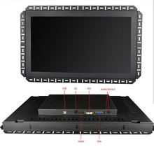 19 Inch Capacitive Touch screen 1280x720 lcd monitor With VGA DVI RS232