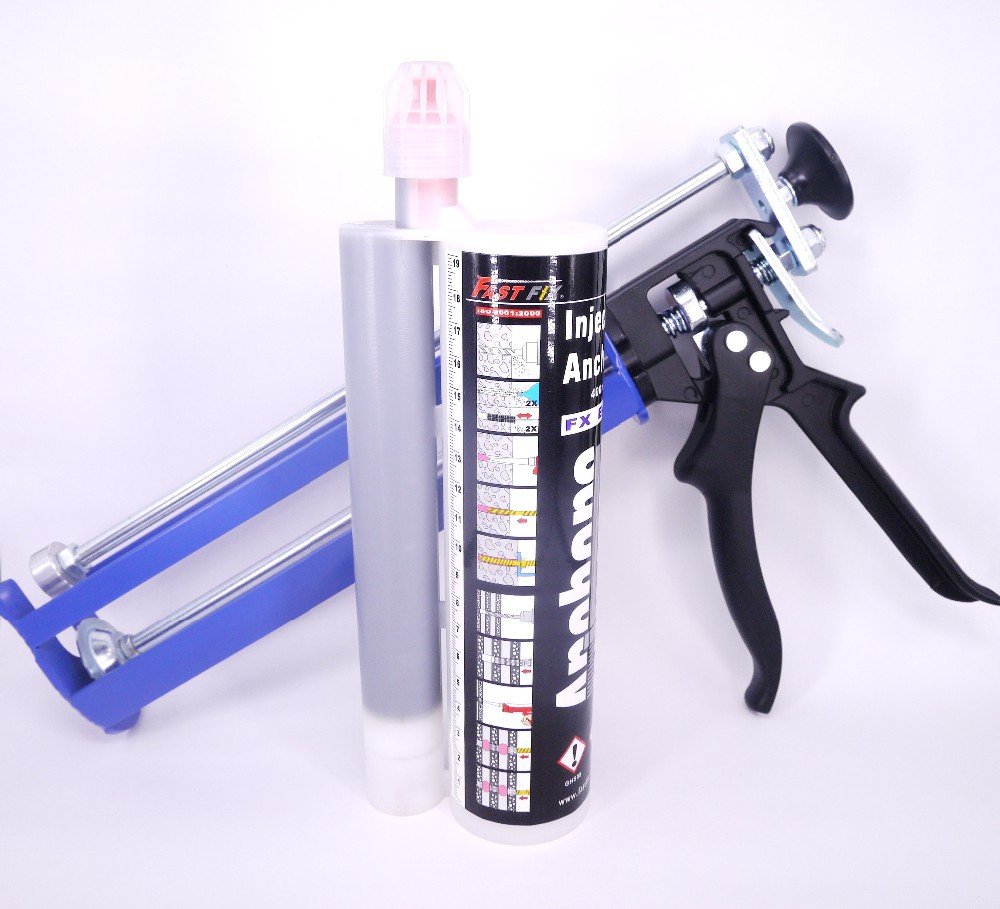 Epoxy resin for hollow threaded rod chemical anchor