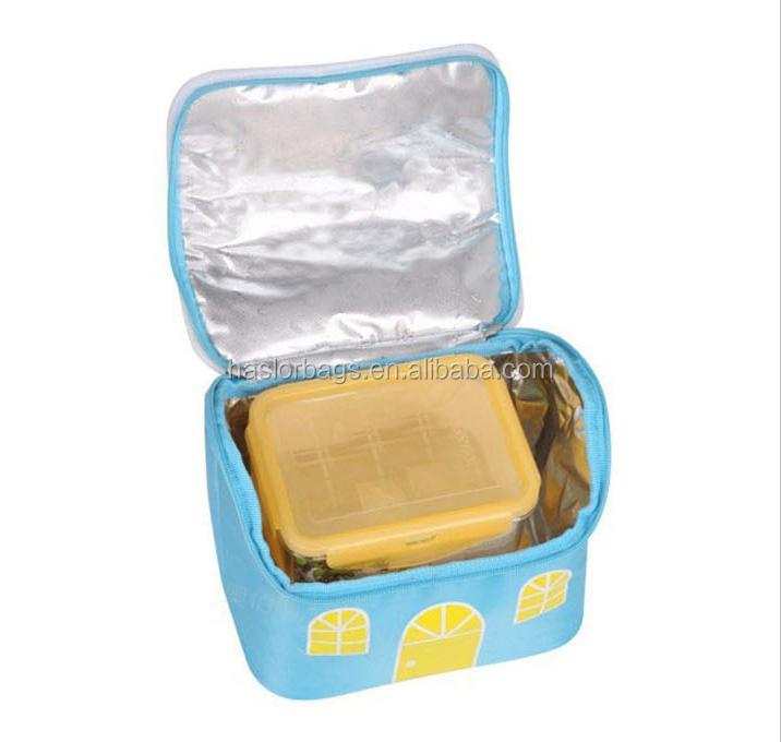 Gros personnalisé mignon déjeuner refroidisseur sac par matériau d'isolation