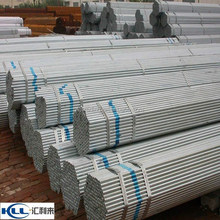 hot dip galvanized steel pipe trading ,SS330 400 material with cap Round Steel Pipe for building material BS1387