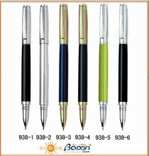 Hot Sale Custom chrome roller pen signature pen for promotion 938