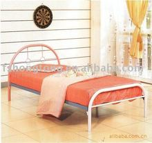pink bunk bed- C103A/morden iron single bed/new design bed