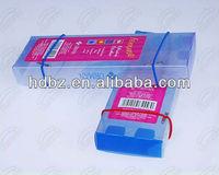 Folding popular plastic pen gift boxes