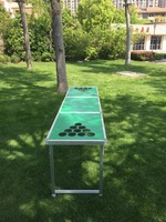 Portable Beer Pong Table customized outdoor Tailgate Table