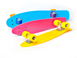 JOY BOLD 22 inch & 28 inch Children plastic and maple penny custom cruiser skate board