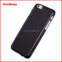 J1211 Black Carbon Fibre Hard Back Cover Case For iPhone 6 4.7 inch