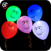 Colorful Promotional Inflatable Led Large Balloon Light