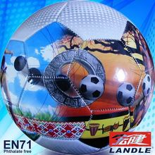 pvc leather customized picture printed football