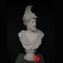 marble roman man head sculpture