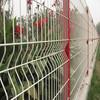 Zhuoda Brand PVC Curvy Welded Wire Fence Panel With High Quality