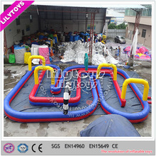 Super China manufacturer interesting inflatable playground/inflatable race track game
